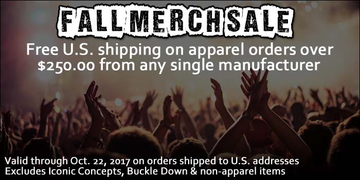 Wholesale Band T-Shirts Free Shipping Sale!